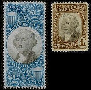 These Are The Second And Third Issue Stamps