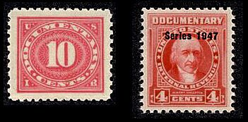 An Overview of United States Scott-Listed Revenue Stamps