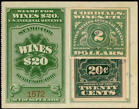An Overview Of United States Scott Listed Revenue Stamps