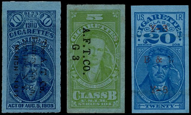 cigarette tax stamp dating
