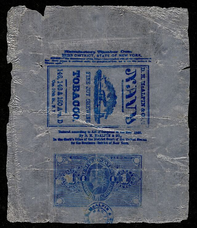 Introduction to United States Taxpaid Revenue Stamps